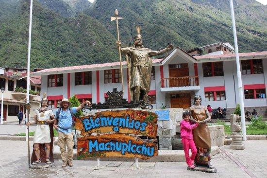 Incas Paradise: Machupicchu pueblo