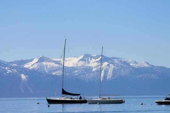 Sparks Marina Park : Lake Tahoe - snow-capped mountains are simply gorgeous