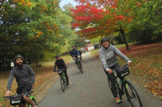 Fall Foliage Bike Ride in Boston