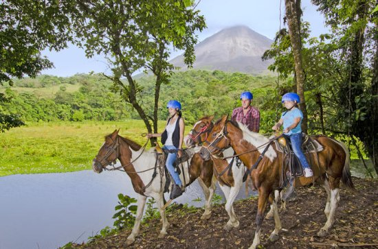 Arenal Volcano River Horseback Riding
