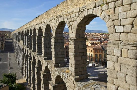 Segovia and Toledo from Madrid with...