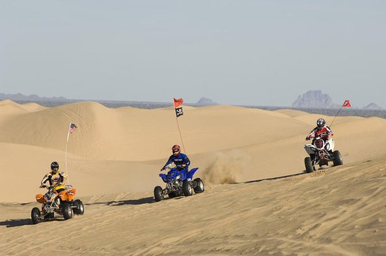 Abu Dhabi Quad Bike Desert Safari with 4W Dune Bashing & Off Road...