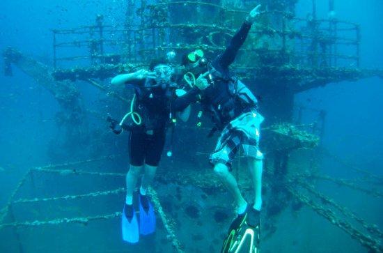 1-dags dykningstur i Koh Chang