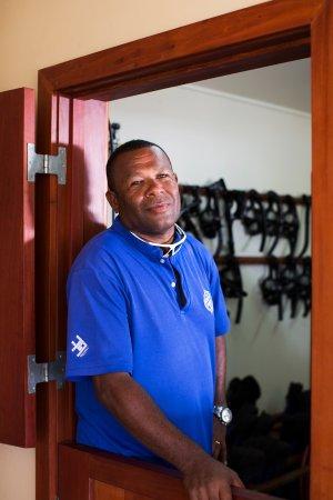Rakiraki, Fiji: Seci is a boat captain with Ra Divers