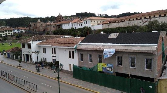 LP Los Portales Hotel Cusco: El Qorikancha al fondo