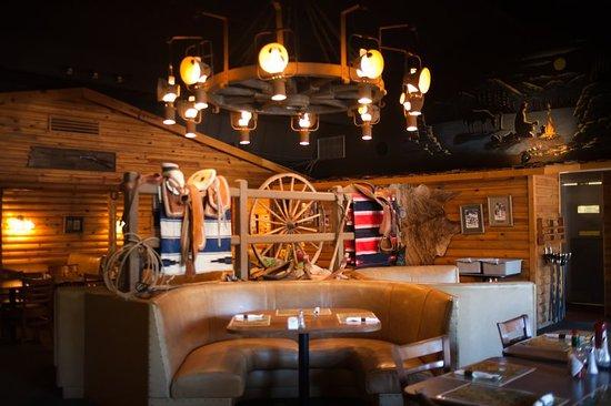 Kohl's Ranch Lodge: Restaurant