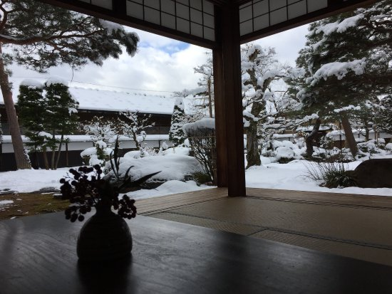 Takayama Jinya : Japanese garden view