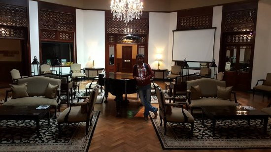 The Grand Hotel: lovely piano
