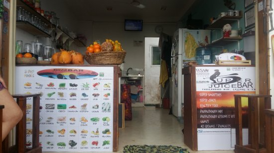 Come Chill At Our Super Juice Bar In Our Bar Area On Our