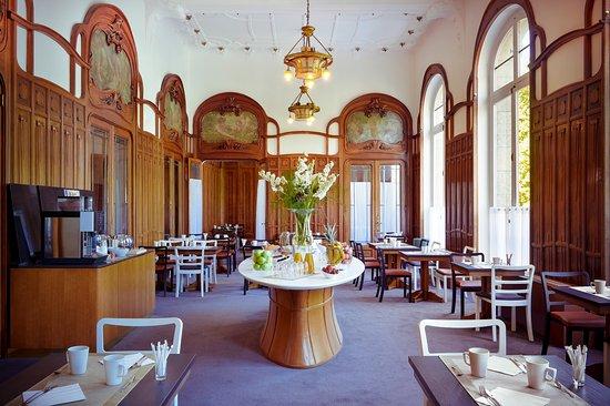 Mercure Lyon Centre Chateau Perrache: Salon des Petits Déjeuners