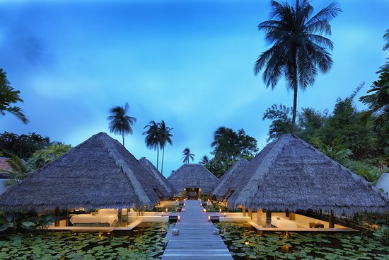 Pak Nam Pran, Thailand: Pavilions (massage rooms) at Six Senses Spa, Evason Huahin