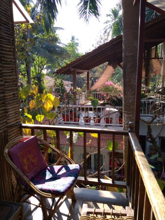 Balcony view from tree house