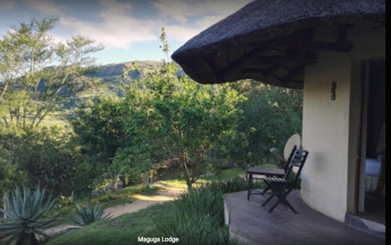 Piggs Peak, Swaziland: Rondavel room at Maguga Lodge