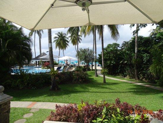 Rendezvous Resort: View from Beach Villa