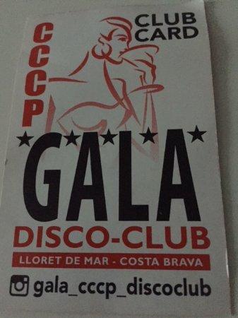 Gala Disco Club CCCP