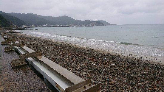 Hidaka-cho, Japan: 産湯海水浴場