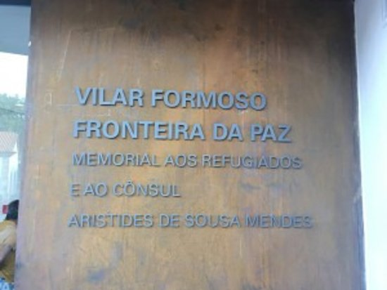 Vilar Formoso, Portugalia: Entrance of the museum