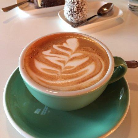 Tarnaby, Sverige: Cappuccino
