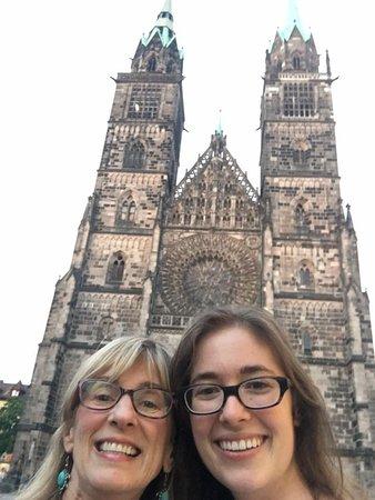 St. Lorenz Kirche: So pretty!