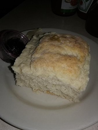 Mother's Restaurant : Delicious, buttery biscuit.