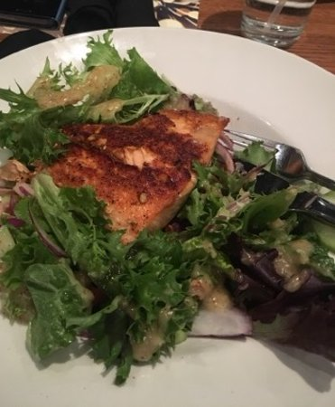 Blackened Salmon Salad Picture Of Granite City Food Brewery Maumee Tripadvisor