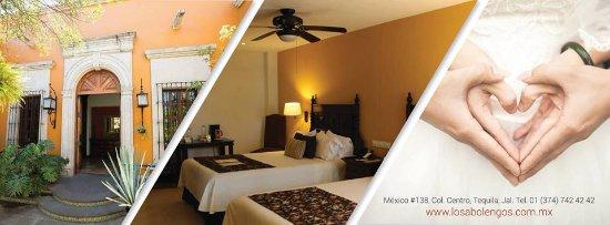 Hotel Villa Tequila: los abolengos grand class casona hotel, el mejor lugar de Tequila para ese momento tan especial.