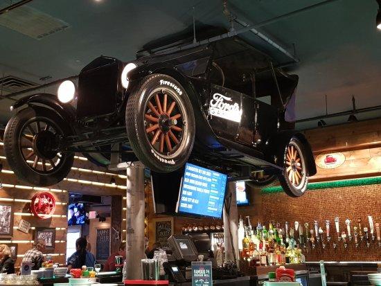Fordbilar i taket picture of ford 39 s garage cape coral tripadvisor - Ford garage restaurant cape coral ...