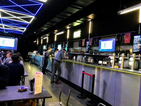 Ninkasi Gerland : intérieur de l'établissement
