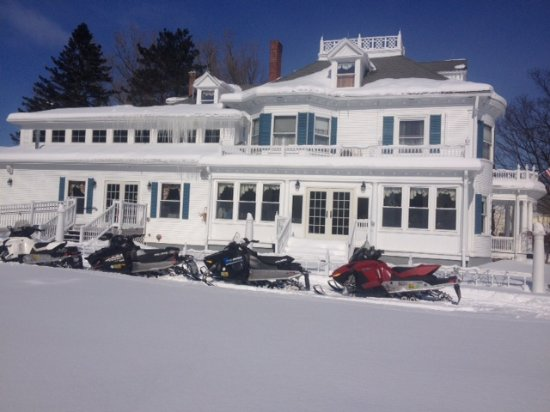 Derby Line, VT: Snowmobile access