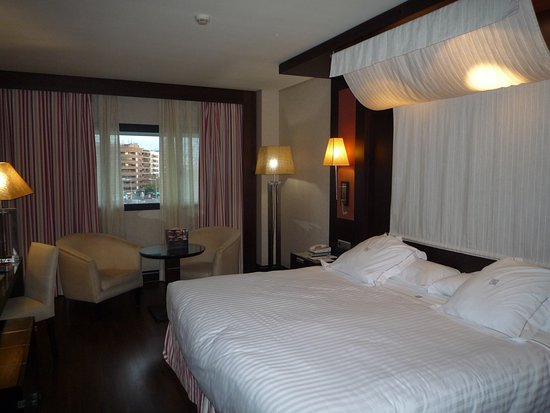 My room. I could only get half of it in photo! - Hotel Cordoba ...