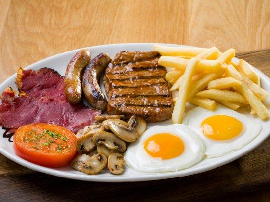 Postmasburg, Südafrika: Ranch Breakfast
