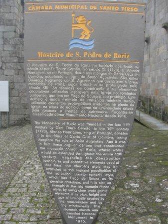 Sao Pedro de Roriz Church: Informação