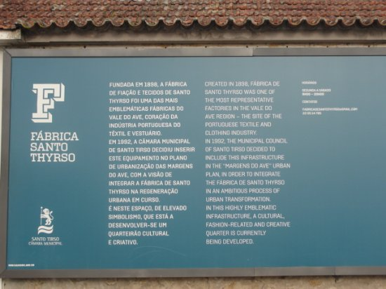 Fabrica Santo Thyrso Interpretative Center