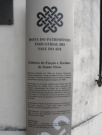 Fabrica Santo Thyrso Interpretative Center: Informação