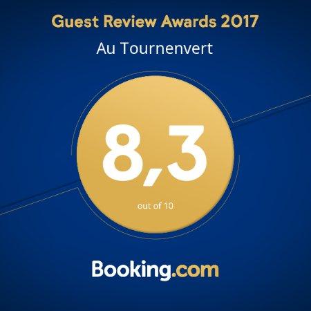 Saint-Francois-du-Lac, Canada: Award 2017, mérité pour la qualité de notre hébergement