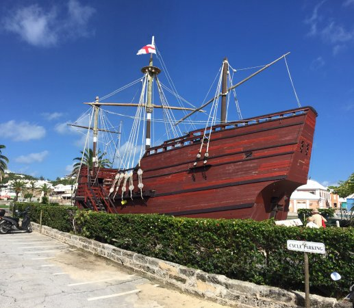 """St. George's Parish, Bermuda: Come aboard the replica ship """"Deliverance"""".  See how life was for the castaways in 1610."""