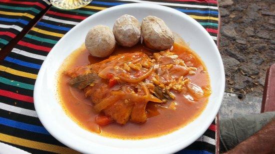 Finca Las Gangarras: Fish dish