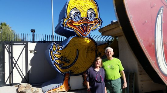 The Neon Museum: Looks like a Tweety Bird