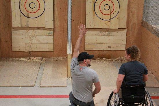 BATL Axe Throwing - Picture of BATL | The Backyard Axe ...