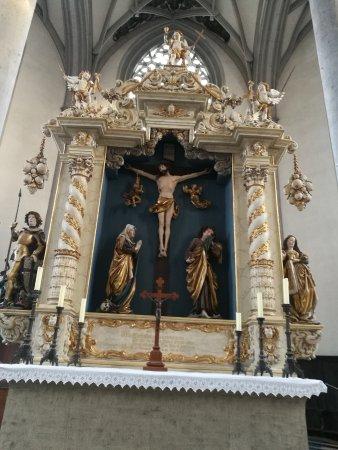 St.- Salvator-Kirche: Altar Mayor.