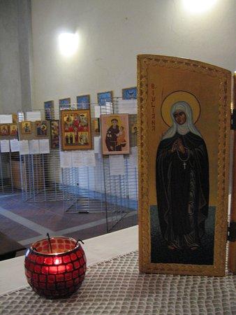 mostra di Icone nella Chiesa dell'Annunciata  a Santa Maria del Monte(VA)