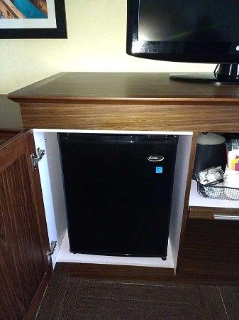 Refrigerator Behind Cabinet Door Dont Slam It Picture Of