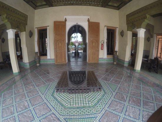 Hotel Les Jardins de l'Agdal: Pool Side Entrance