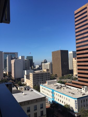 View of San Diego from our 10th floor balcony