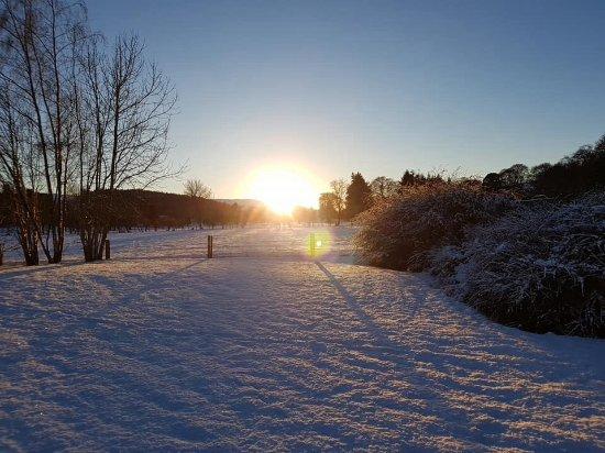 Highland Heather Lodges: Unspoilt views