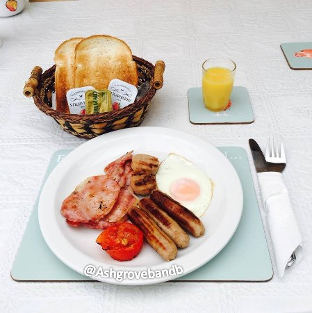 Kilbride, Irlanda: Our Mini Irish Breakfast