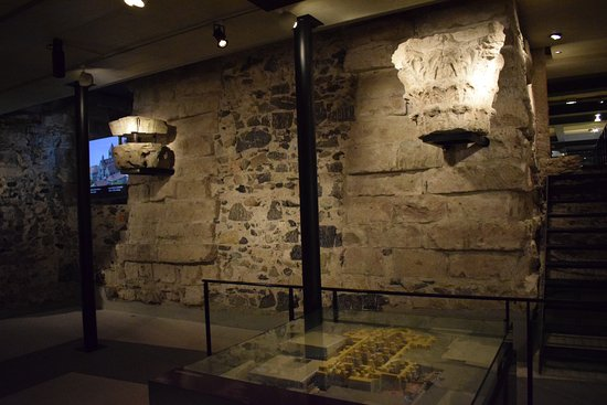 Archeological Site at St. Pierre's Cathedral : Археологический музей в соборе Сен-Пьер