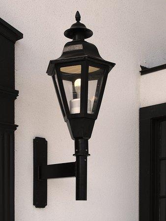 White House Hotel, Biloxi, MS - Front Entrance Lamp