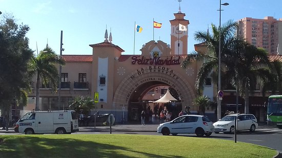 Mercado Municipal Nuestra Senora de Africa: Fachada Mercado Municipal Ntra. Sra. de Africa
