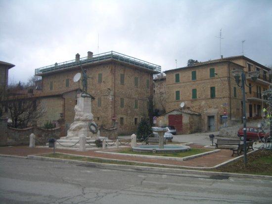 Marsciano, Italy: la piazza principale